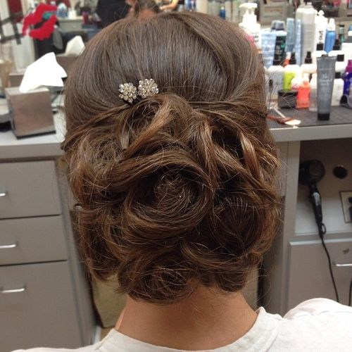37 chic prom updo for long hair