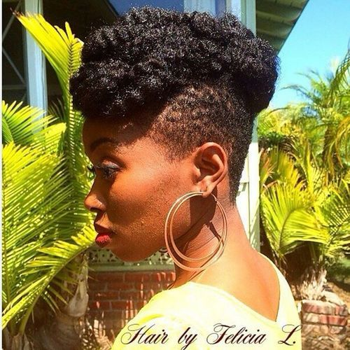 37 mohawk with natural hair