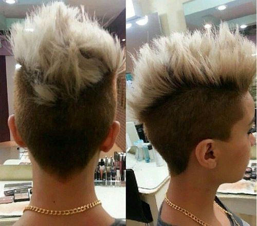 38 soft spiked mohawk