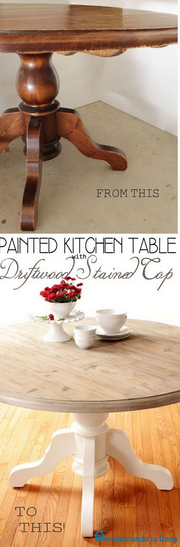 39 Kitchen Table Makeover