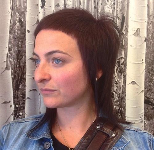 39 medium layered haircut with extra short bangs