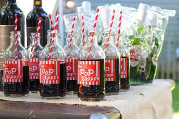 4 Old-Fashioned Soda Pop