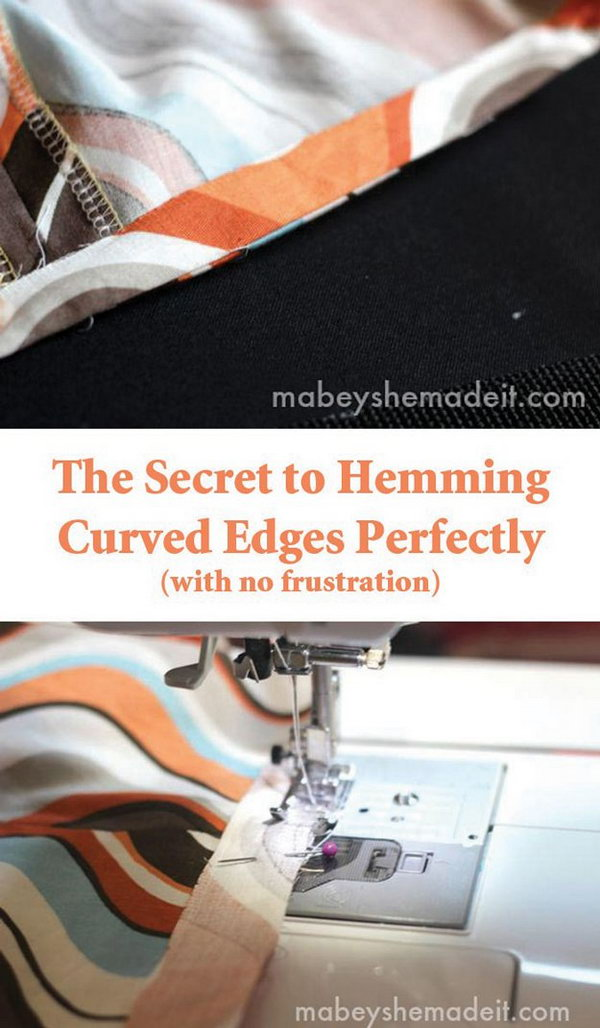 4 The Secret to Hemming Curved Edges