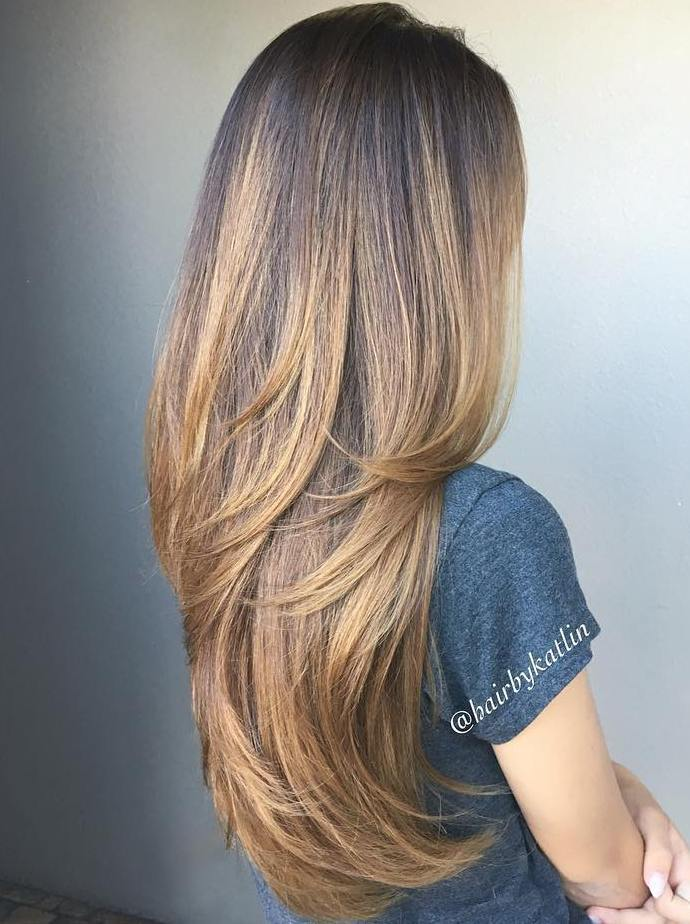 4 light brown balayage for long hair
