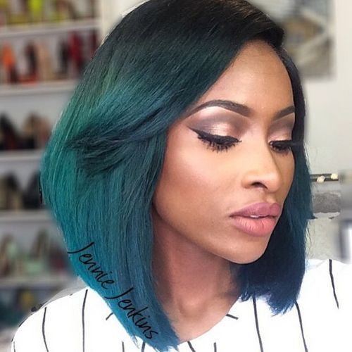 43 color pop with long bob