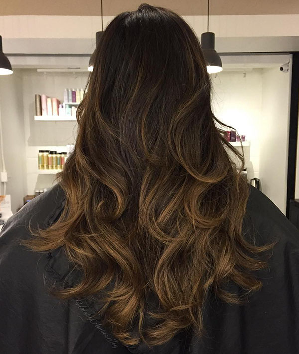 44 subtle balayage for brunettes