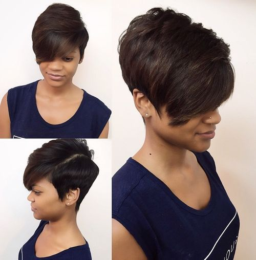 45 cropped cut with volume