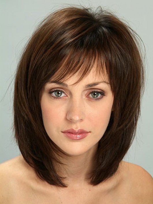 48 Medium Layered Bob Hairstyles for Women