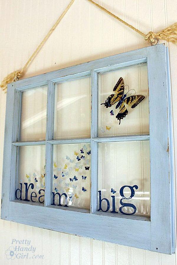 5 Creative Butterfly Window