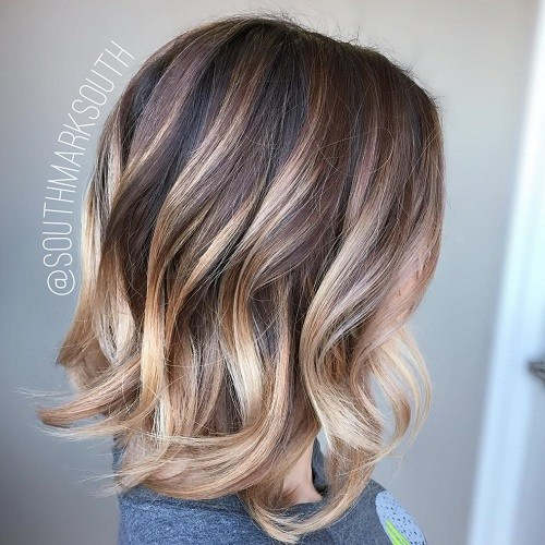 5 blonde ombre balayage for dark brown hair