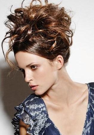 5 formal updo medium curly hairstyles 2013 3