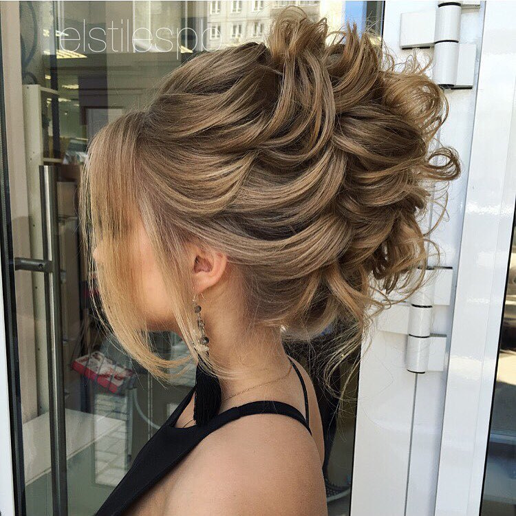 40 Most Delightful Prom Updos For Long Hair In 2019 Page 5