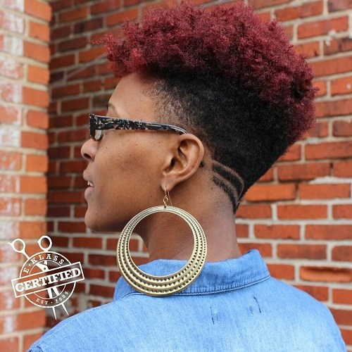 5 womens undercut haircut for natural hair