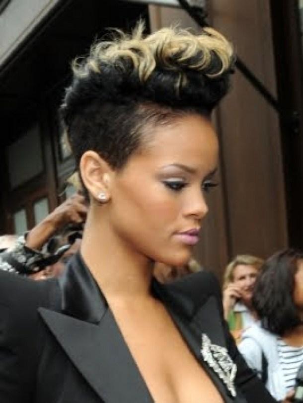 50 rihanna mohawk hairstyle