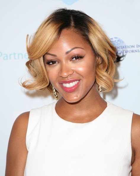 BEVERLY HILLS, CA - JUNE 06:  Meagan Good arrives at CARRY Annual Benefit Gala at Montage Beverly Hills on June 6, 2014 in Beverly Hills, California.  (Photo by Maury Phillips/Getty Images)