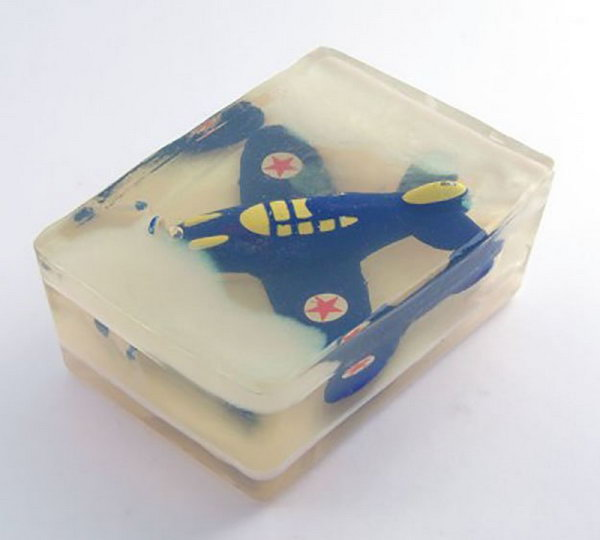 7 Rescue the Airplane Soap for the Reluctant to Wash Hands Little Ones