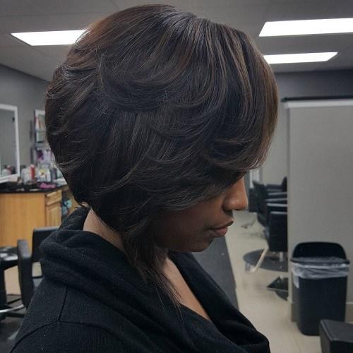 7 black bob hairstyle