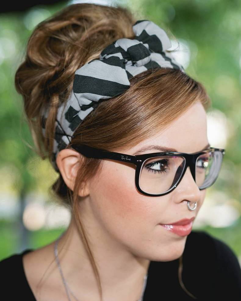 7 hipster beehive updo