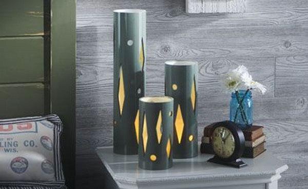 8 PVC Table Lamp