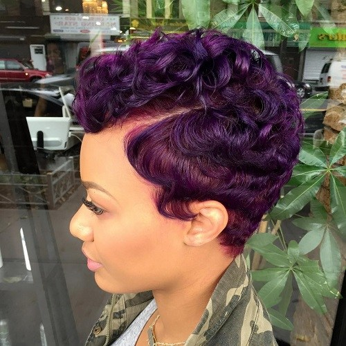 8 curly pixie hairstyle for black women