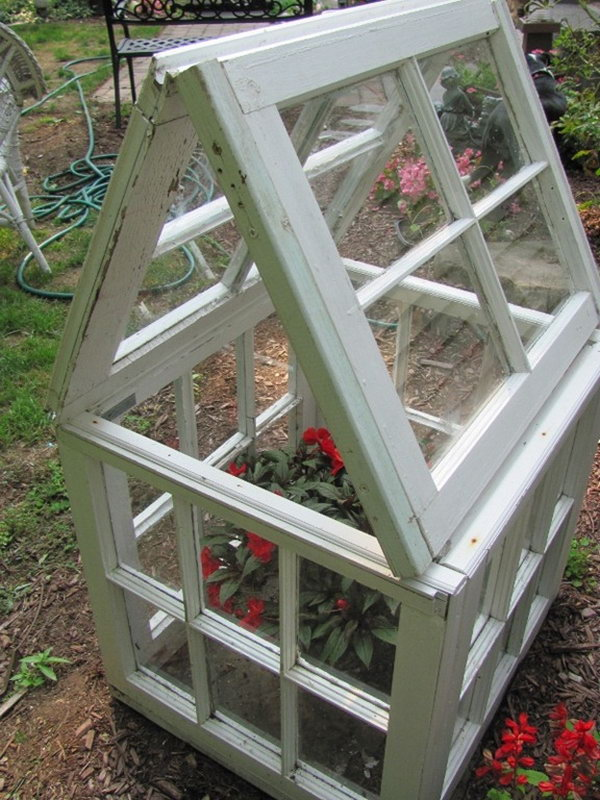 9 Make Your Own Small Window-Based Flower House