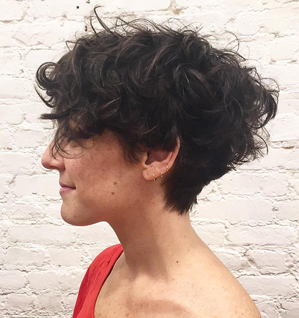 19 short tapered haircut for curly hair