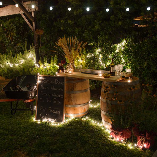 22 Wine Barrel Outdoor Bar