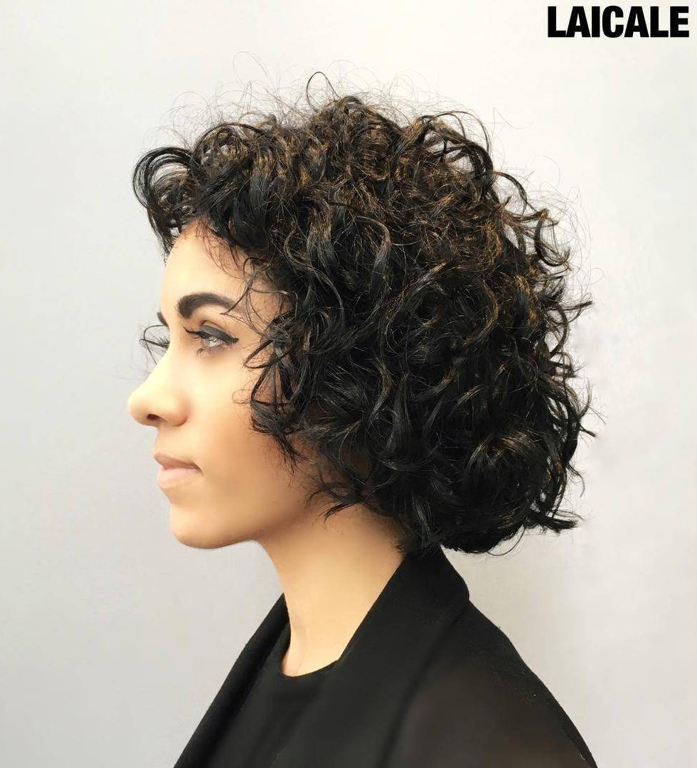 22 curly bob hairstyle