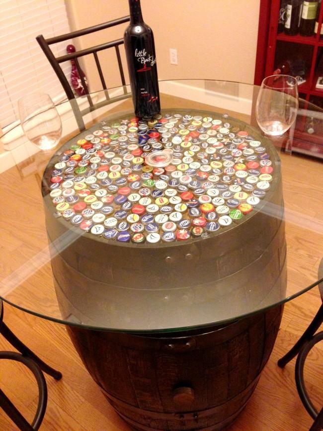 24 Wine Barrel Sink