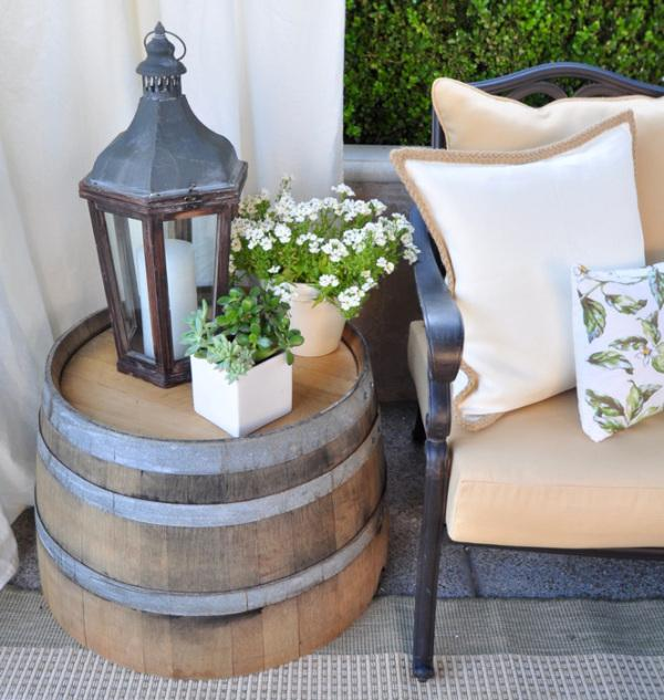 25 Wine Barrel and Bottle Fountain