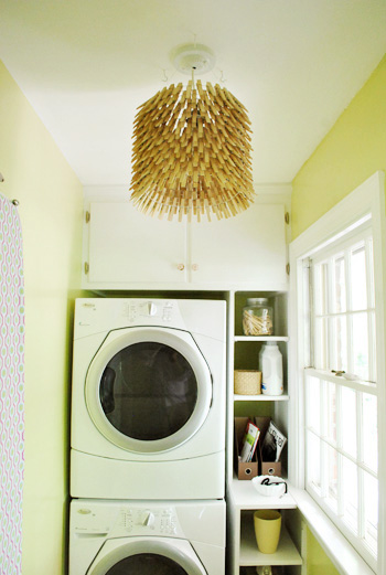 26 Chandelier for the Laundry Room