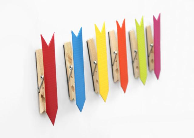 29 Rainbow Colorful Arrow Clips