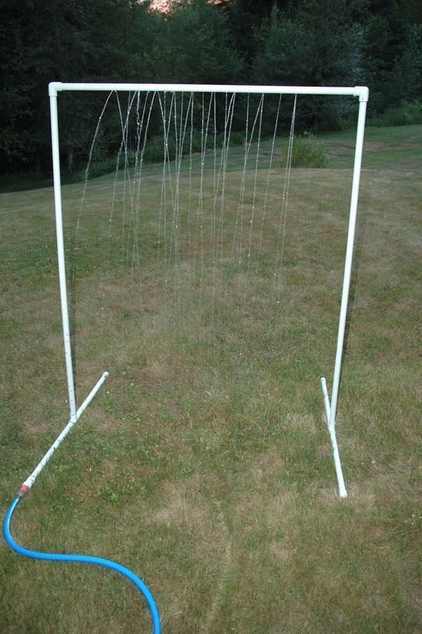 32 PVC Sprinkler Water Toy