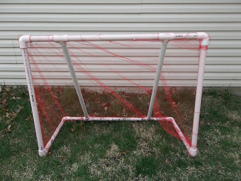 37 DIY PVC Pipe Soccer Goal