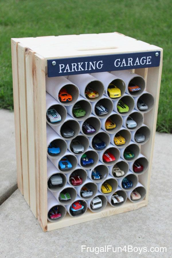 39 PVC Pipe Garage for Boys Cars