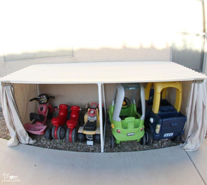 42 Covered Kiddie Car Parking Garage