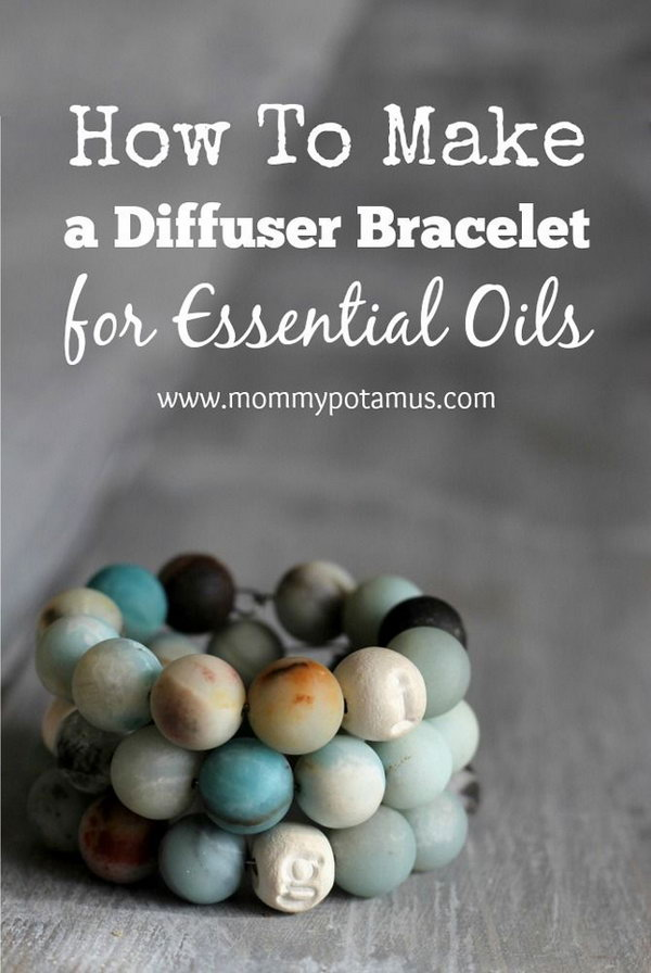 1 DIY Diffuser Bracelet For Essential Oils