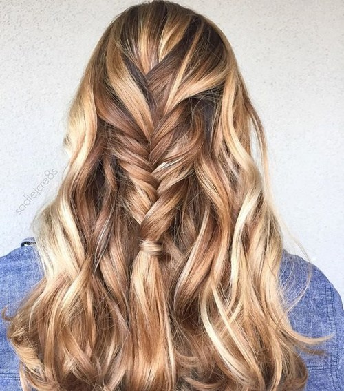 50 looks with caramel highlights on brown and dark brown hair 1 caramel and blonde highlights pmusecretfo Image collections