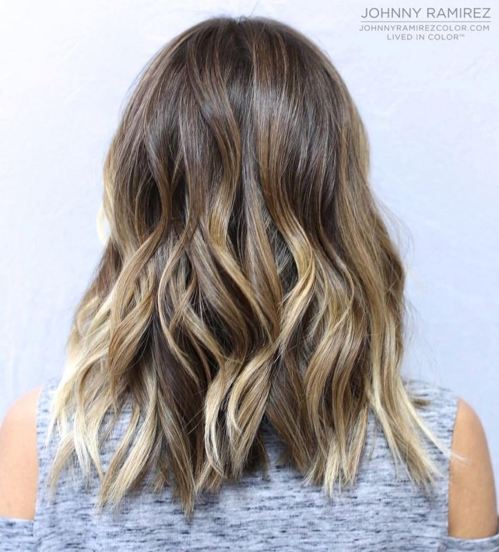 10 light brown hair with blonde highlights