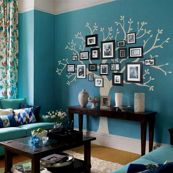 11 Family Tree Photo Wall Display