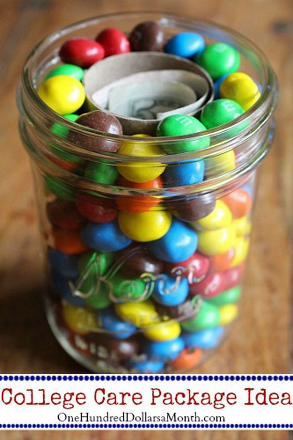 15 M&M's and Money College Care Packages