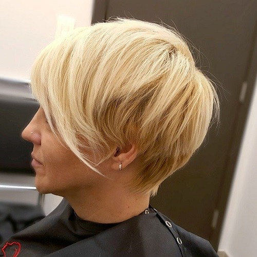 15 long blonde pixie haircut