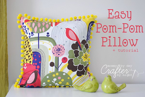 17 Easy Pom-Pom Pillow