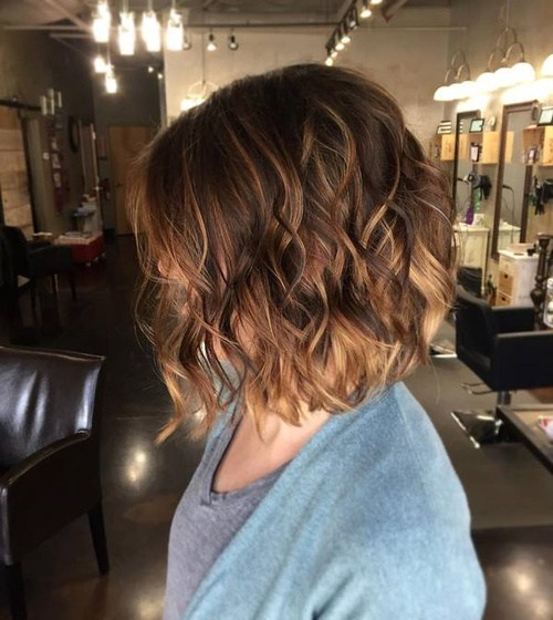 19 brown ombre balayage bob