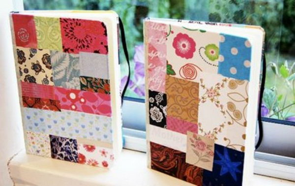 21 Patchwork Notebook Cover