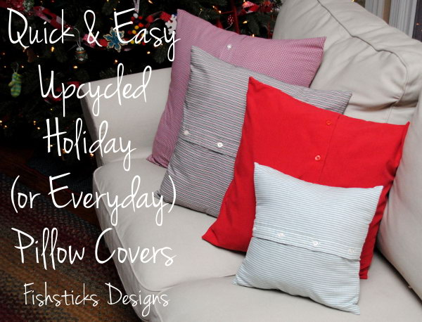 27 Handmade Quick Pillow Cover