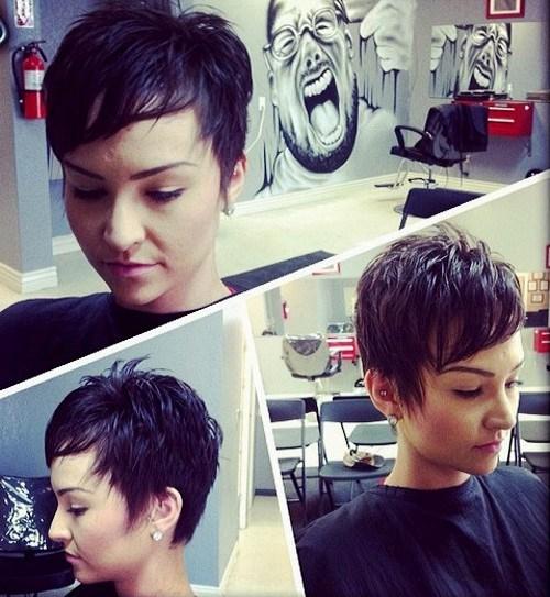 28 short layered womens haircut