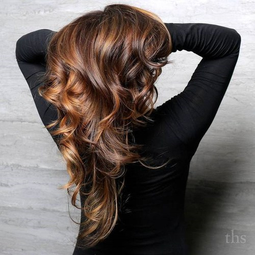 3 caramel balayage highlights for brown hair
