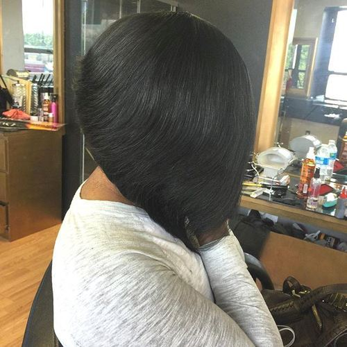 34 black bob haircut