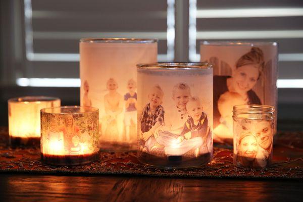35 Glowing Photo Luminary